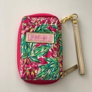 Lily Pulitzer Wristlet Wallet